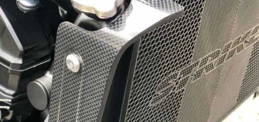 '21Z900RS用ラジエターサイドシュラウド、間もなく完成!